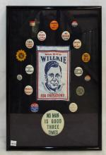 Willkie For President & Misc. Campaign Buttons