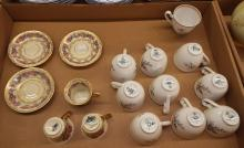 Group Of Porcelain Cups And Saucers