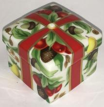 Tiffany & Co. Porcelain Trinket Box