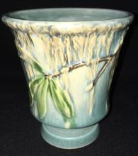 Roseville Art Pottery Moss Footed Vase