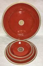 Fitz And Floyd Dinnerware, Medaillon D'or