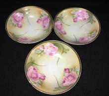 Group Of R. S. Germany Porcelain Berry Bowls