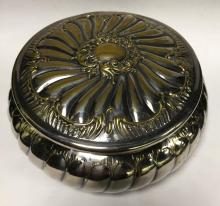Silver Plate Hinged Lid Bowl