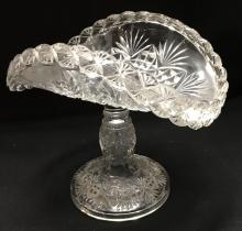 Footed Glass Serving Tray