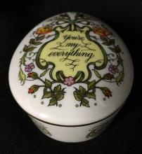 Songs Of Love Porcelain Music Box