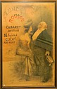 La Lune Rousse French Cabaret poster, dated 1904