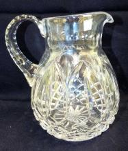 Manner Of Waterford Crystal Pitcher