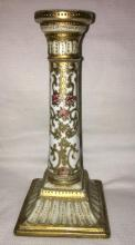 Hand Painted Nippon Candle Stick