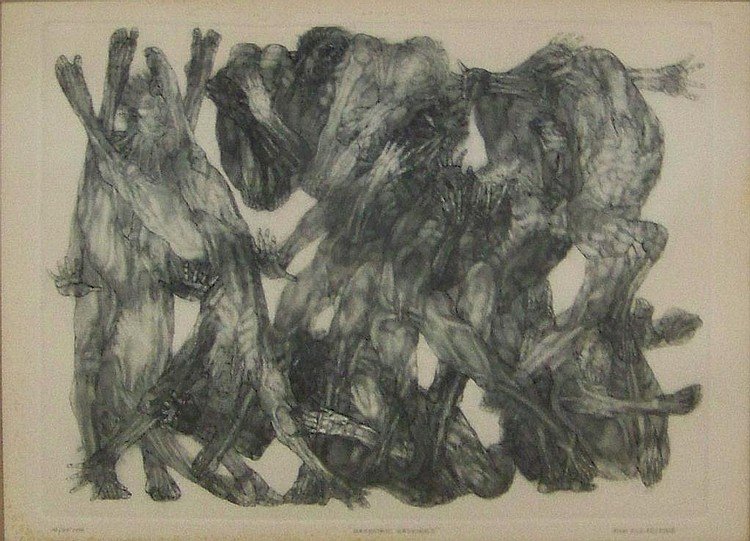 John Silk Deckard engraving