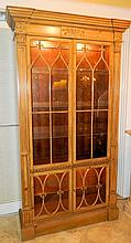 Baker Pine Display Cabinet