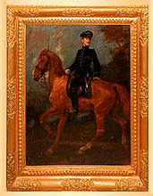 Ludwig Putz Portrait of a Calvary Officer