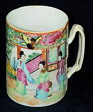 19th Century Rose Medallion Mug