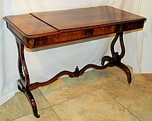 19th Century English Regency Style Games Table