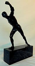 Male Nude Athlete Grand Tour Bronze