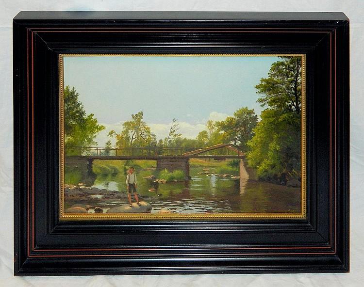 Peter Schou Oil Painting