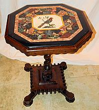 19th Century Pietra Dura Table