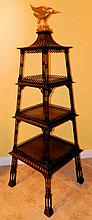 RARE Chinese Chippendale Etagere