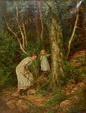 Edgar Barclay Oil on Canvas