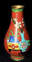 Cloisonne Miniature Vase