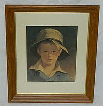 Framed Print of Boy