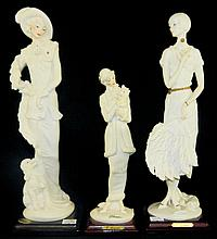 Grouping of G. Armani Figurines
