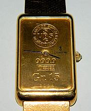 18K & 24K Gold Corum Wrist Watch