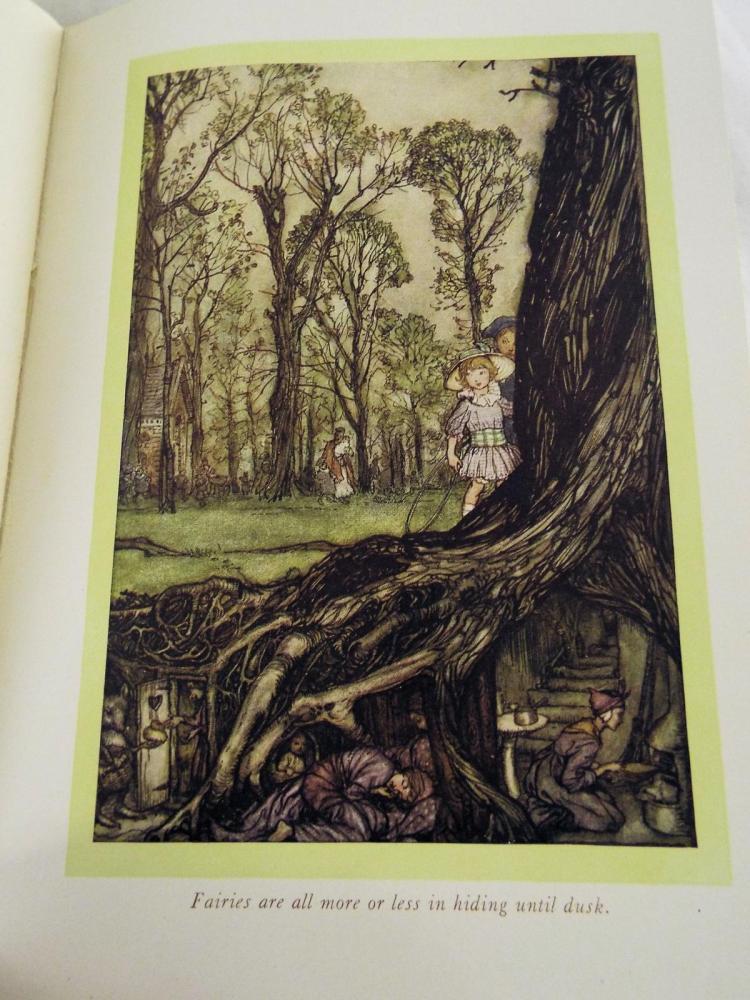 Peter Pan In Kensington Gardens By J. M. Barrie