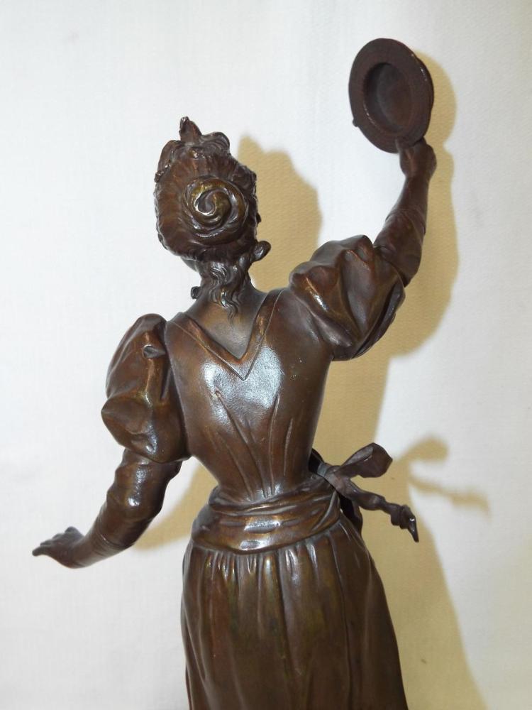 bronze sculpture le premier prix par anfrie. Black Bedroom Furniture Sets. Home Design Ideas