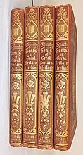 Set of 4 British Books, Volumes 1 - 4