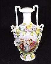 Victoria Carlsbad Hand Painted Porcelain Vase