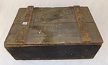 Weld Craft Wooden Advertising Tool Box