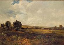Edward Monson Wimperis Oil on Canvas Landscape