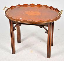 Inlaid Tray Top Table