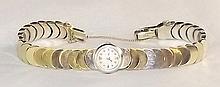 14 kt. Gold Ladies Wrist Watch
