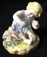 Royal Worcester Figurine Of Child, Mischief