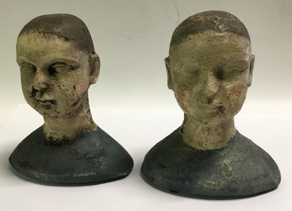 Pair Of Unusual Figural Bookends