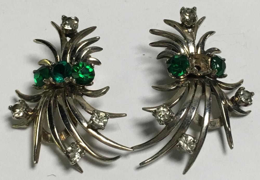 Pair Of Pennino Sterling Silver Earrings