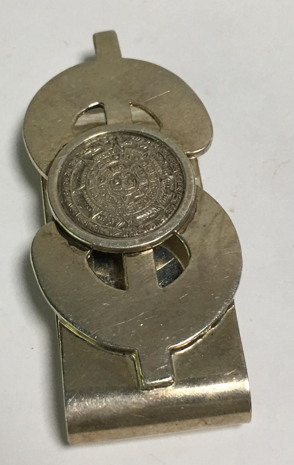 Vintage Sterling Money Clip