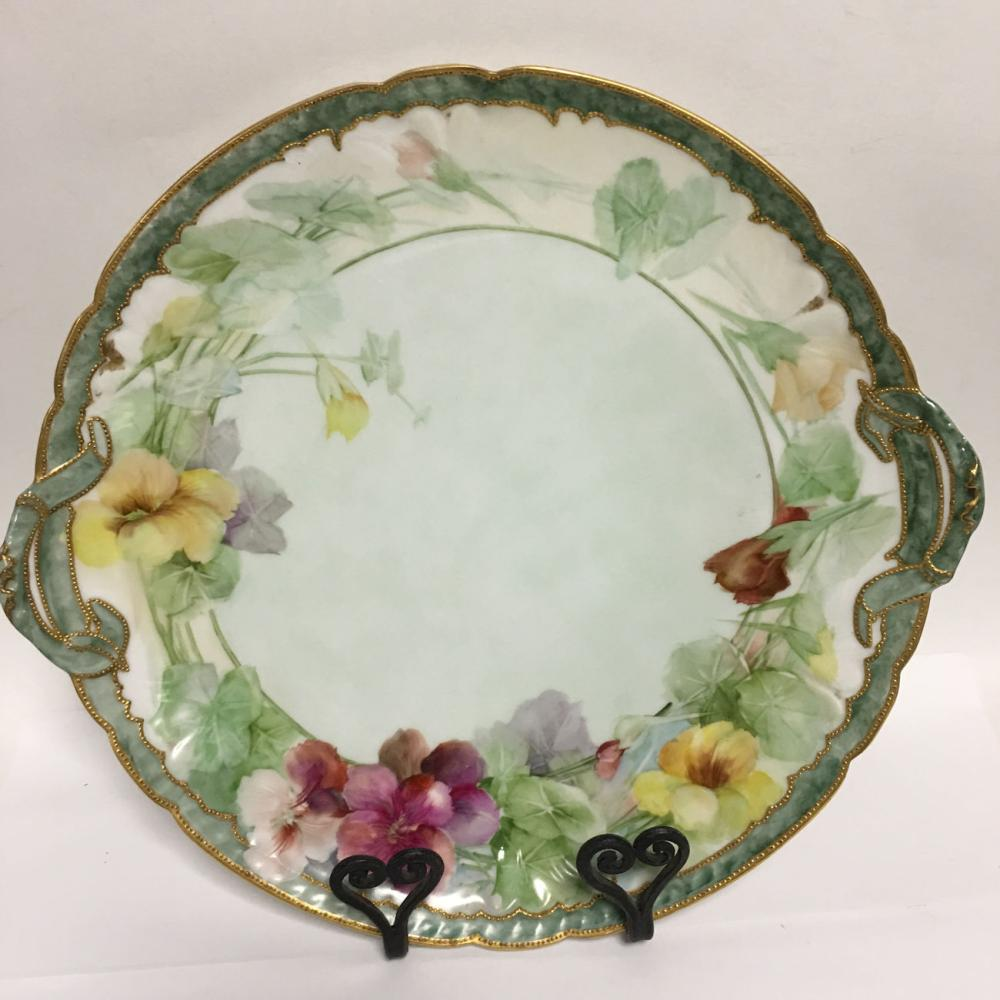 Goa France Hand Painted Porcelain Tray