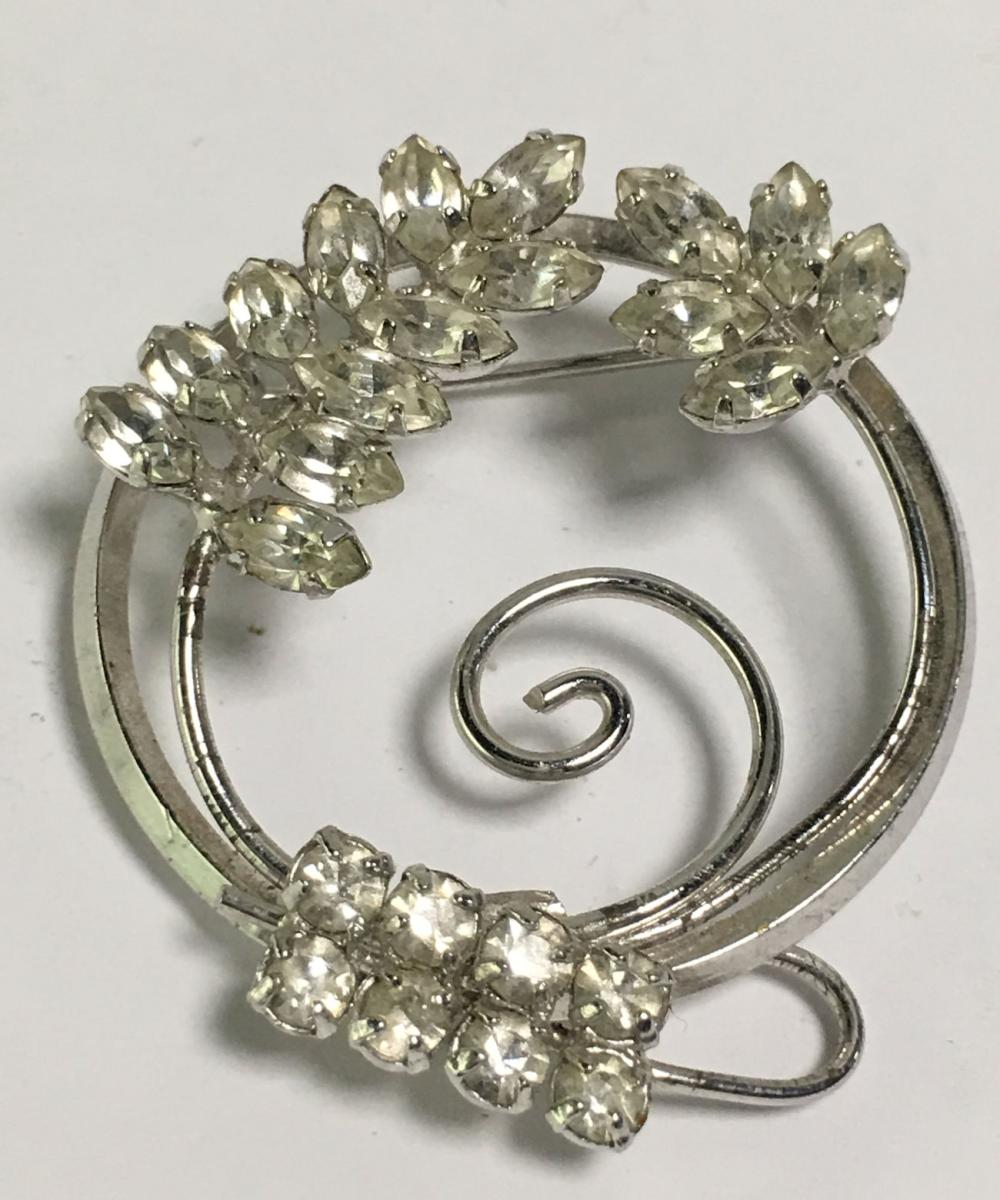 D'or Sterling Silver Brooch