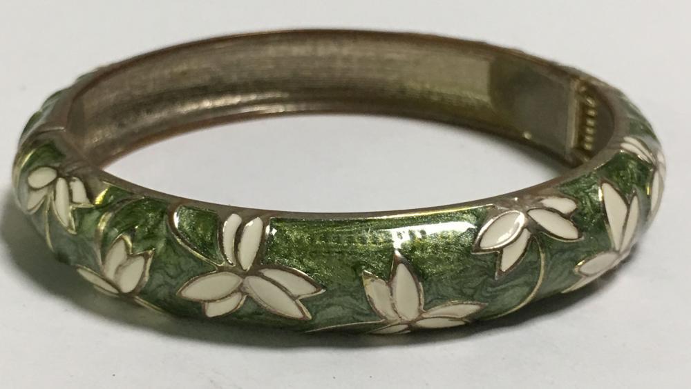 Tokyo Jane Enameled Bangle Bracelet