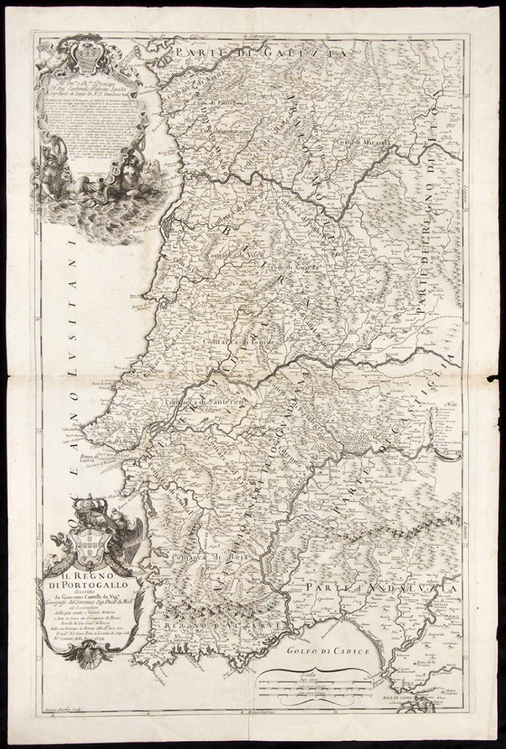 Giacomo Cantelliafter Vignola (1643-1695): IL REGNO DI PORTOGALLO