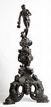 GIROLAMO CAMPAGNA (Venetian follower of) - Pair of firedogsFirst quarter of the seventeenth century