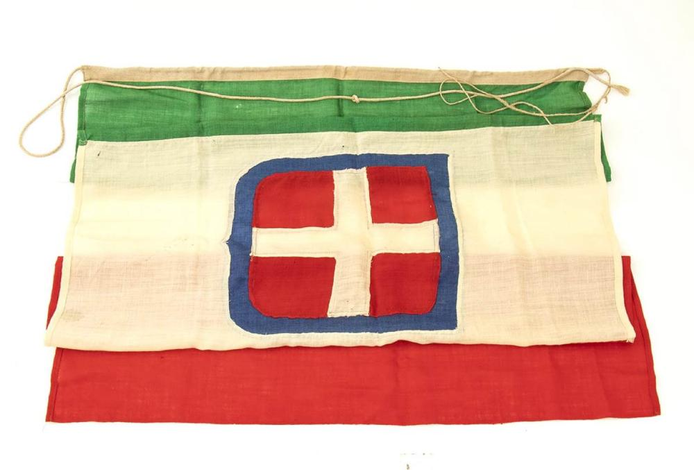 Savoy flag - Italy, first quarter of the 20th century