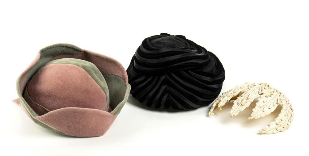 LOT OF 3 HATS - 30s / 50s