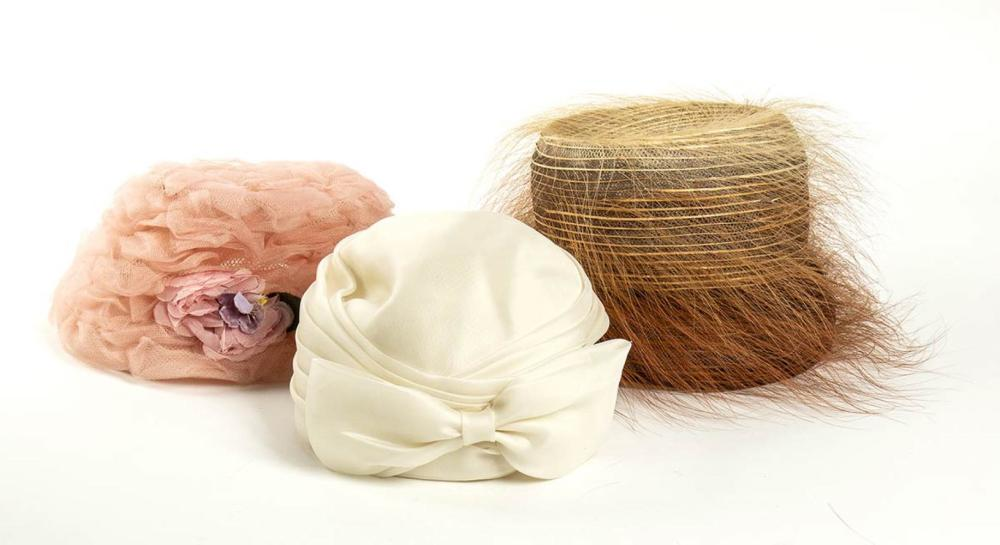LOT OF 3 HATS - 60s