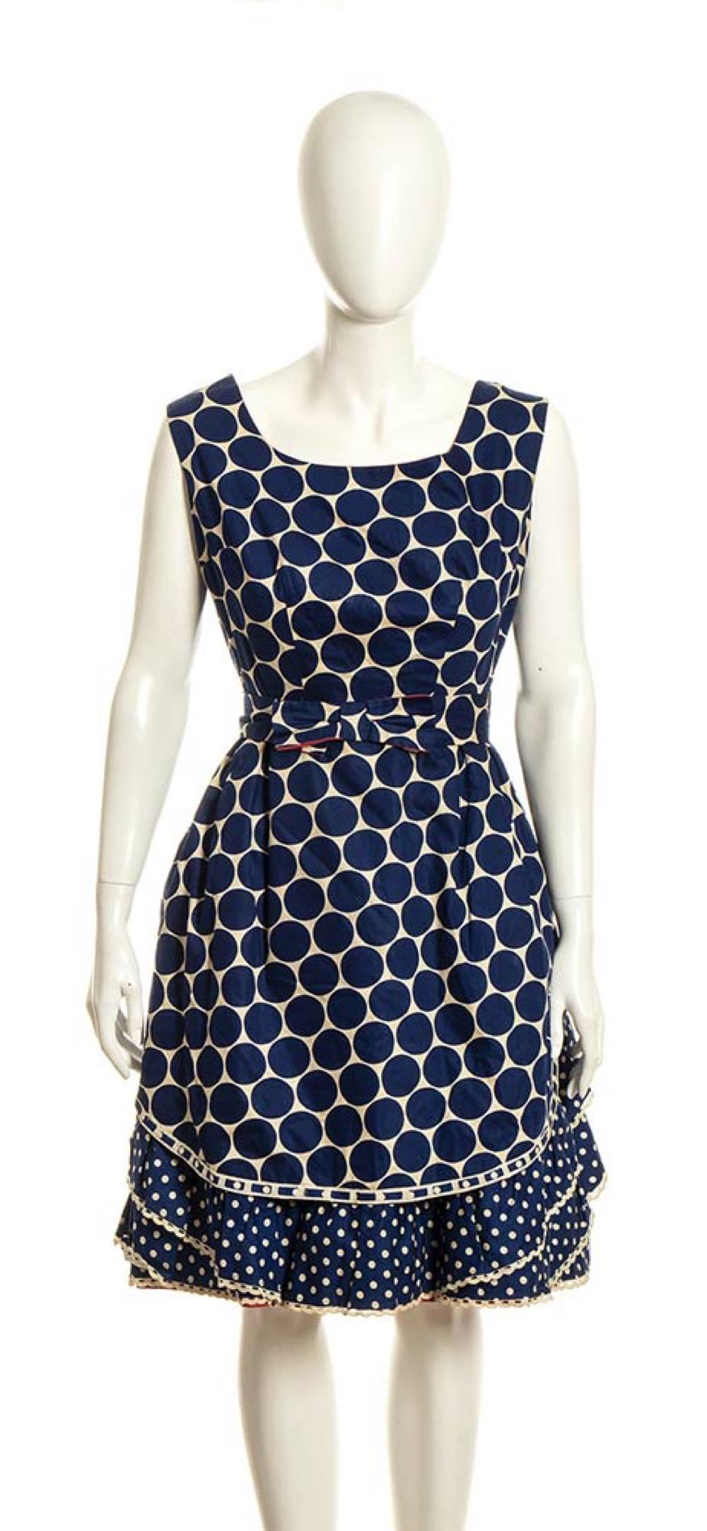 FERNANDA PANCANI - COTTON DRESS - 60s