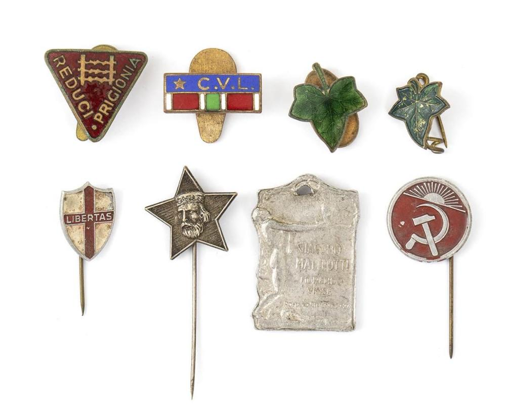 Lot of CLN political badges - Italy, first half of the 20th century