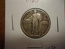1923 STANDING LIBERTY QUARTER (VERY FINE)