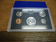 1968 US PROOF SET (WITH BOX) 40% SILVER HALF